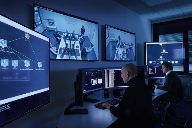 RUAG Defence: Simulations of cyber attacks at the Cyber Training Range