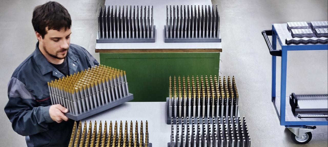 RUAG Ammotec: Tool sets for the manufacture of ammunition components ready for testing